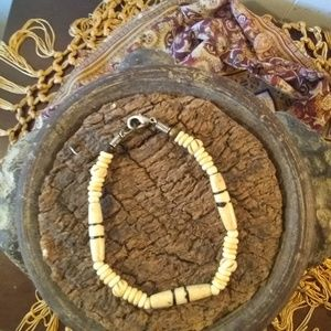 Vintage Puka Shell Bracelet